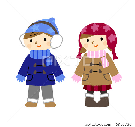 儿童 孩子 冬装