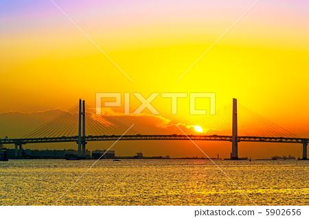照片素材(图片): 海湾大桥 太阳系 太阳能