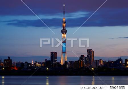 东京晴空塔 时髦 时尚