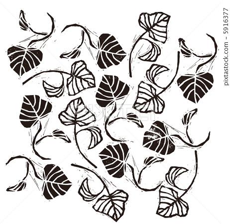 树叶 叶子 剪纸艺术
