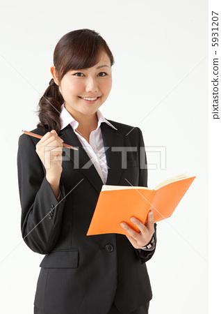 西装 女人 女性-图库照片