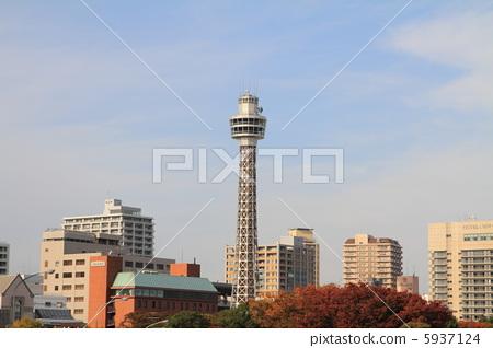 港口的瞭望塔
