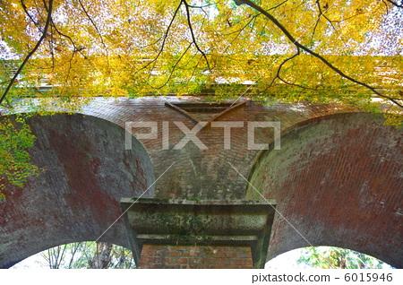 水道桥 建筑结构-图库照片