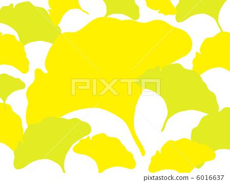 银杏大树矢量图
