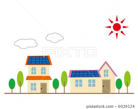 生态住宅 太阳能 光伏