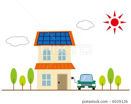 生态住宅 光伏 太阳能