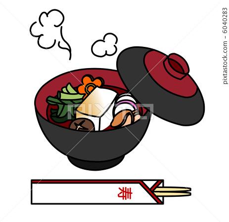 杂煮 索尼 日本年糕汤