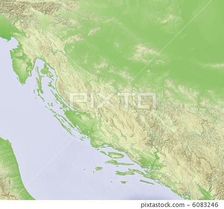 克罗地亚 萨格勒布 地图学