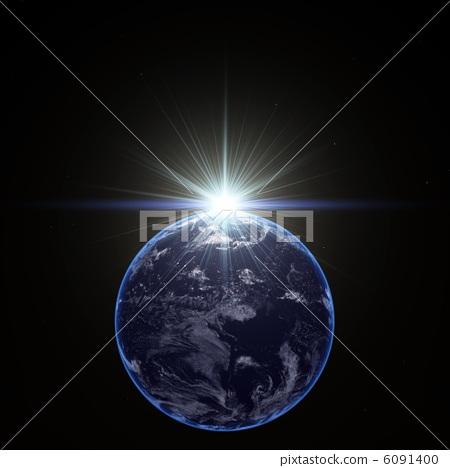 太空星球简笔画7
