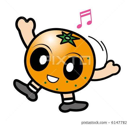 矢量图 橘子 矢量