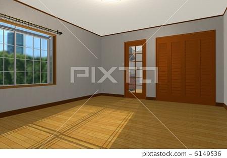 图个轻松皮卡剧空房间素材