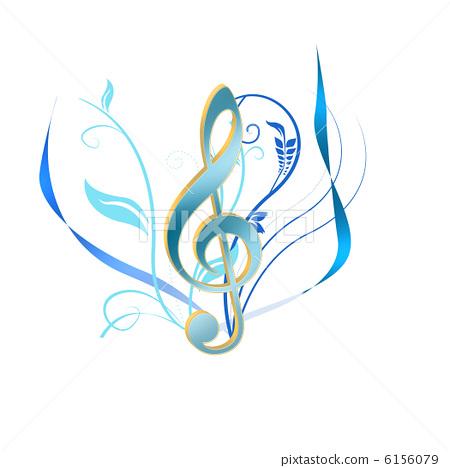 g调号 高音谱号 音乐