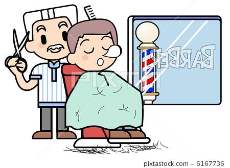 理发 美发师 理发店