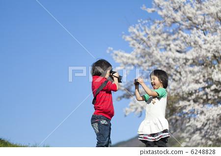 射击 拍照 儿童