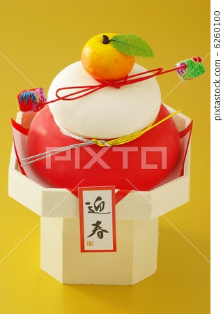 镜饼 手工艺品 新年