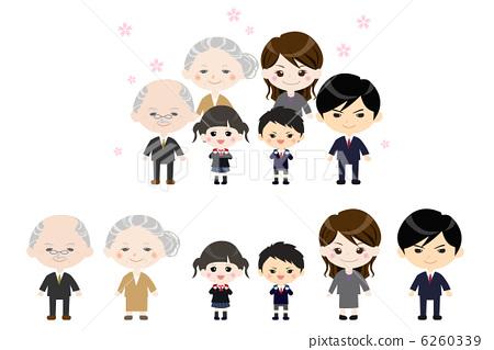 三代人 人 家庭