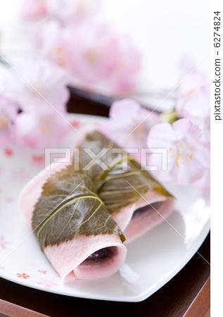 樱花糕 樱花年糕 日本糖果