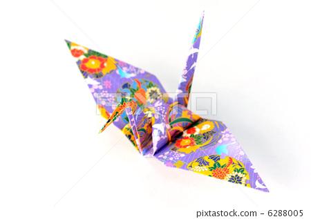 图库照片: 折纸 鹤 纸鹤