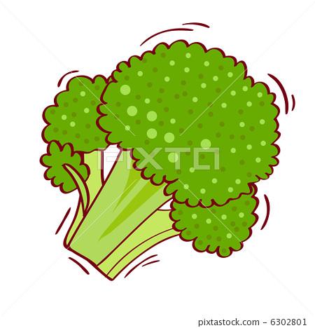 蔬菜 西兰花 图标