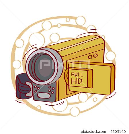 摄像机 摄影机 图标