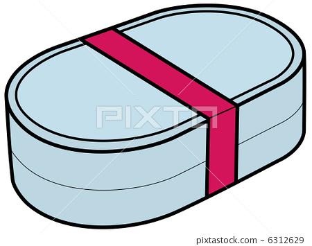饭盒stock 插图 - pixta