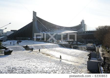 国立代代木体育馆 积雪 体育设施