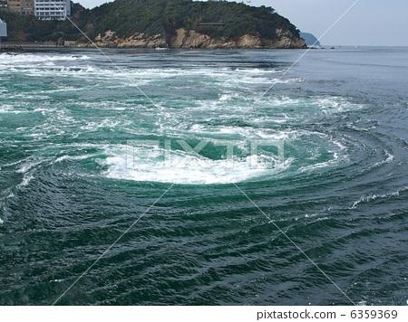 照片素材(图片): 漩涡 漩涡流 海
