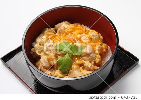 餐 午餐 亲子盖浇饭 日式料理 日本料理  *pixta限定素材仅在pixta