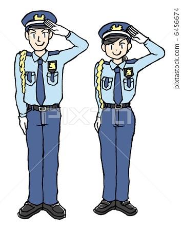 保安帽徽矢量图