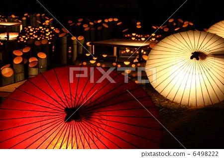 校园生活 俱乐部活动 日本伞 灯笼 挂灯笼  *pixta限定素材仅在pixta