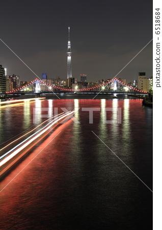 无线电塔 东京晴空塔 天线杆