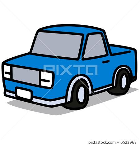 插图 矢量图 卡车 车 车辆