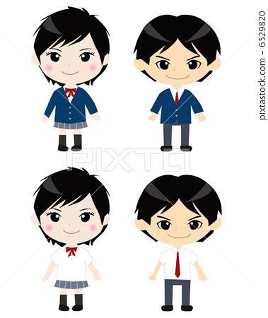 校服 制服 学生