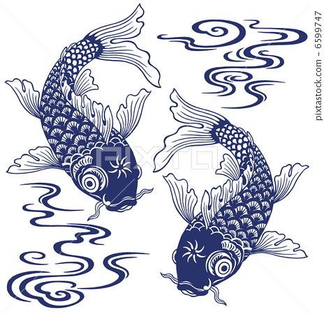 鲤鱼剪纸步骤图