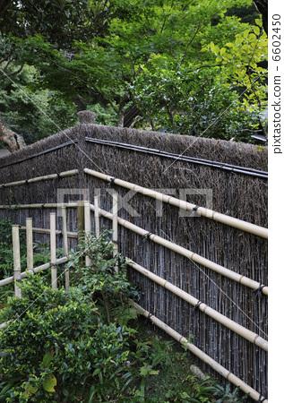 栅栏 篱笆 日式庭院
