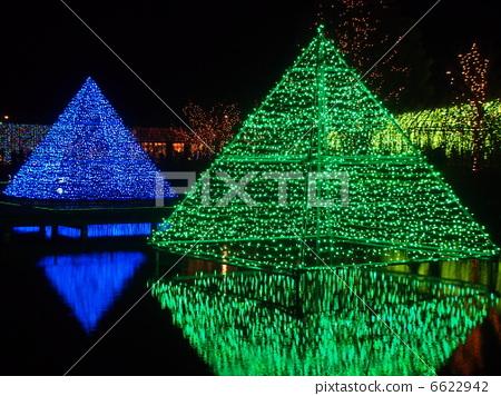 照明 金字塔 三角形