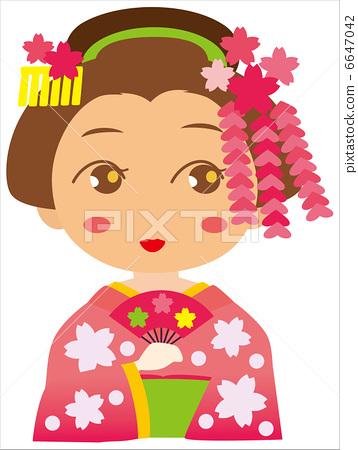 图库插图: 歌舞伎 能量景点 能量点