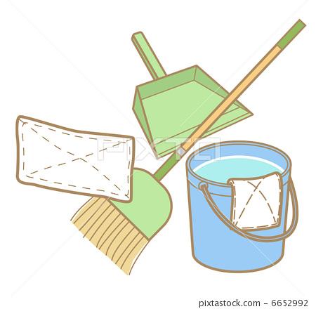 清洁工清洁厂房时受伤_乐乐简笔画