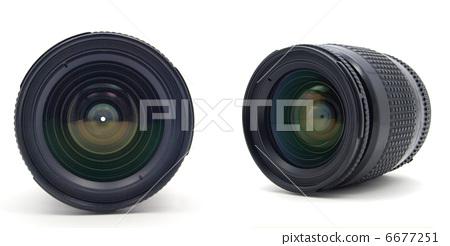 手绘照相机白底图
