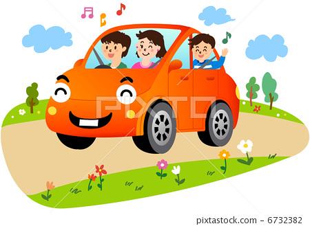 家庭 车辆 车