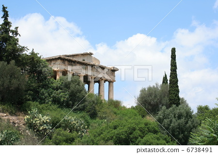 希腊神庙 地点 残骸