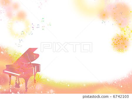 人物 男女 年轻人 插图 钢琴和笔记 首页 插图 人物 男女 年轻人 钢琴