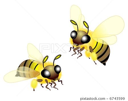 指偶手工制作图片大全蜜蜂-圆柱纸偶手工制作图片