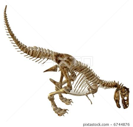 插图素材: 恐龙 霸王龙 中生代