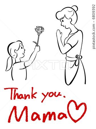母亲节-图库插图