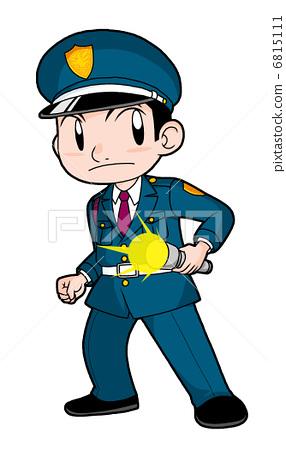 卡通保安 注册保安公司图片