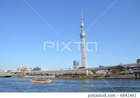 无线电塔 天线杆