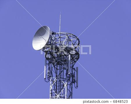 天线杆 电缆塔 抛物线