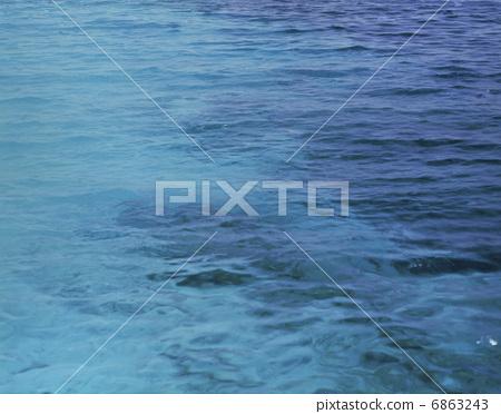 海平面 背景材料 水