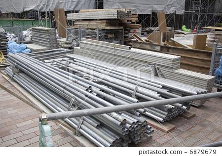 建材 材料仓库 建筑工地-图库照片 [6879679] - pixta